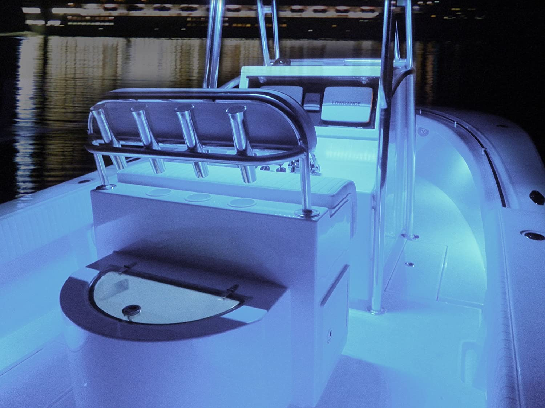 Amazon.com: Zone Tech 30cm LED Car Flexible Waterproof Light Strip ...