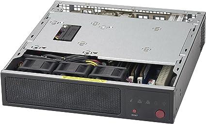 Supermicro SuperServer E200-8D - Mini-1U - Xeon D-1528 1 9 GHz - 0 MB - 0 G