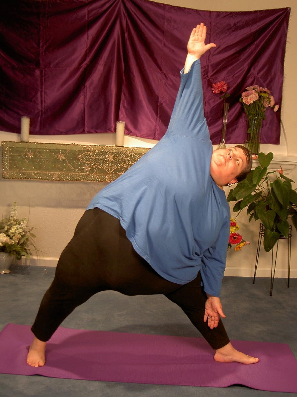 Amazon.com: En plenitud, Yoga, para grandes mujeres de ...