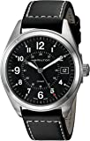 Hamilton Men's H68551733 Khaki Field Analog Display Quartz Black Watch