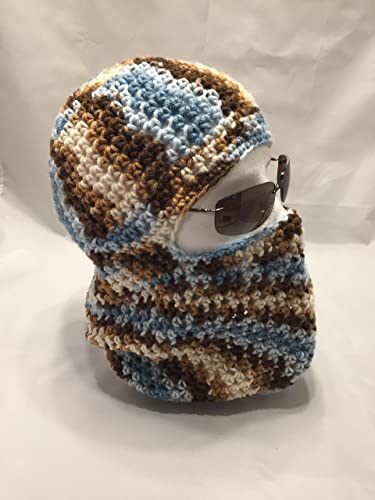 Amazon Unisex Crochet Ski Mask Cap Converts To Beanie Cap
