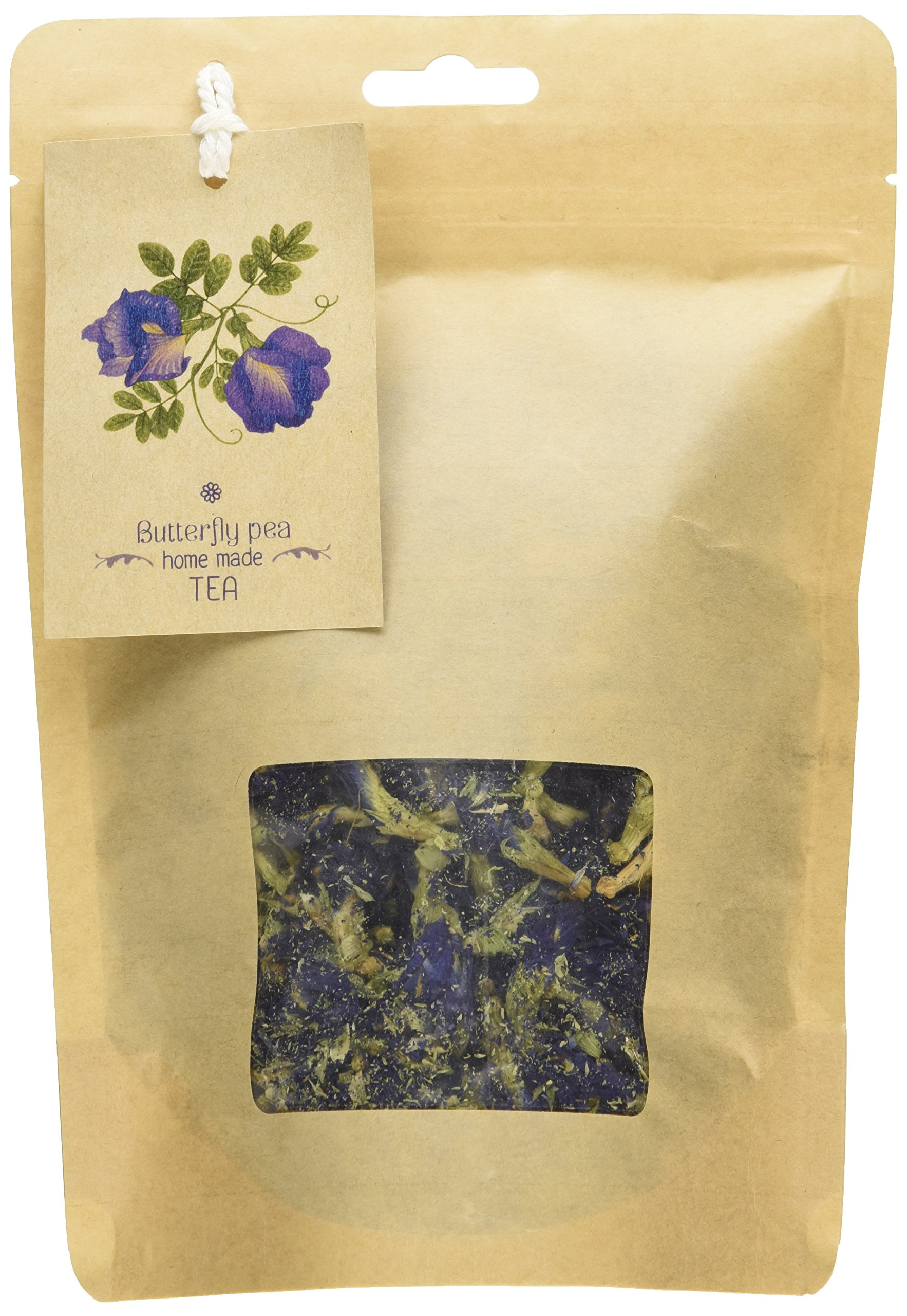 Herbal Dried Butterfly pea Flowers Herb Thai&Pandanus Tea ,Blue Tea, Thai Herbals -Take it with honey and lemon to enjoy its awesome taste and revel in the tasteful experience it brings