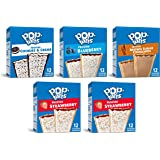 Pop-Tarts, Breakfast Toaster Pastries, Variety Pack, 6.349lb Case (30 Count)