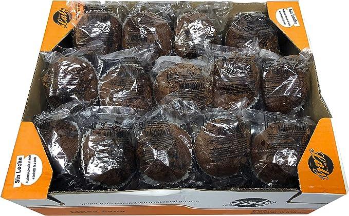 Magdalenas con Chocolate Sin Leche - Aptas para Alérgicos a ...