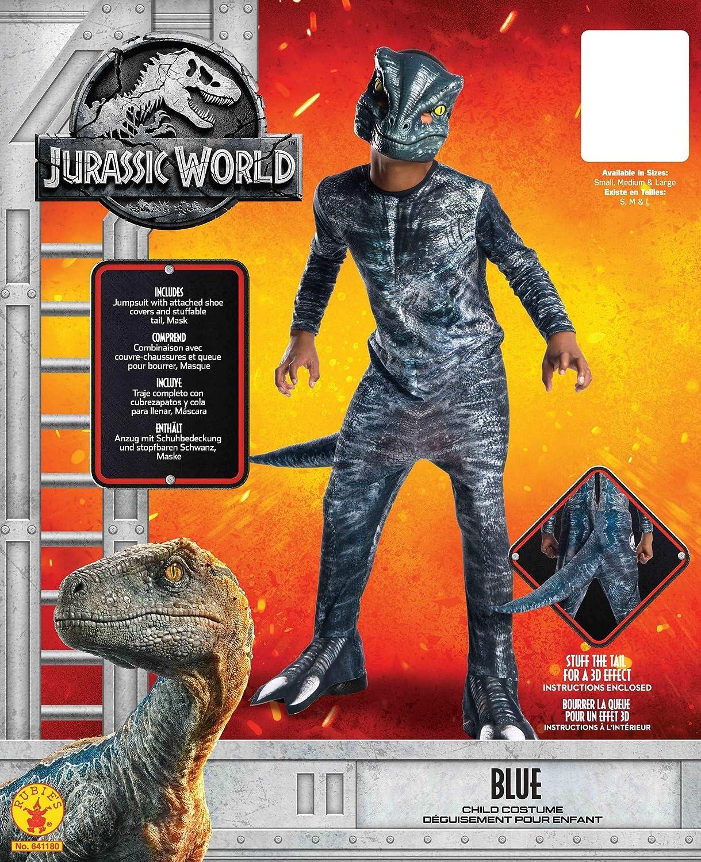 Jurassic World Disfraz Velociraptor Classic Inf (Rubies 641180-M): Amazon.es: Productos para mascotas