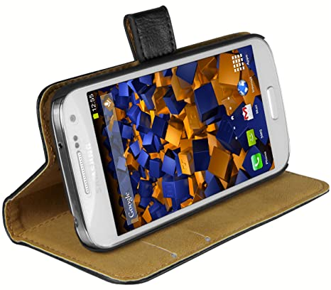 mumbi Tasche im Bookstyle für Samsung Galaxy S4 mini Tasche