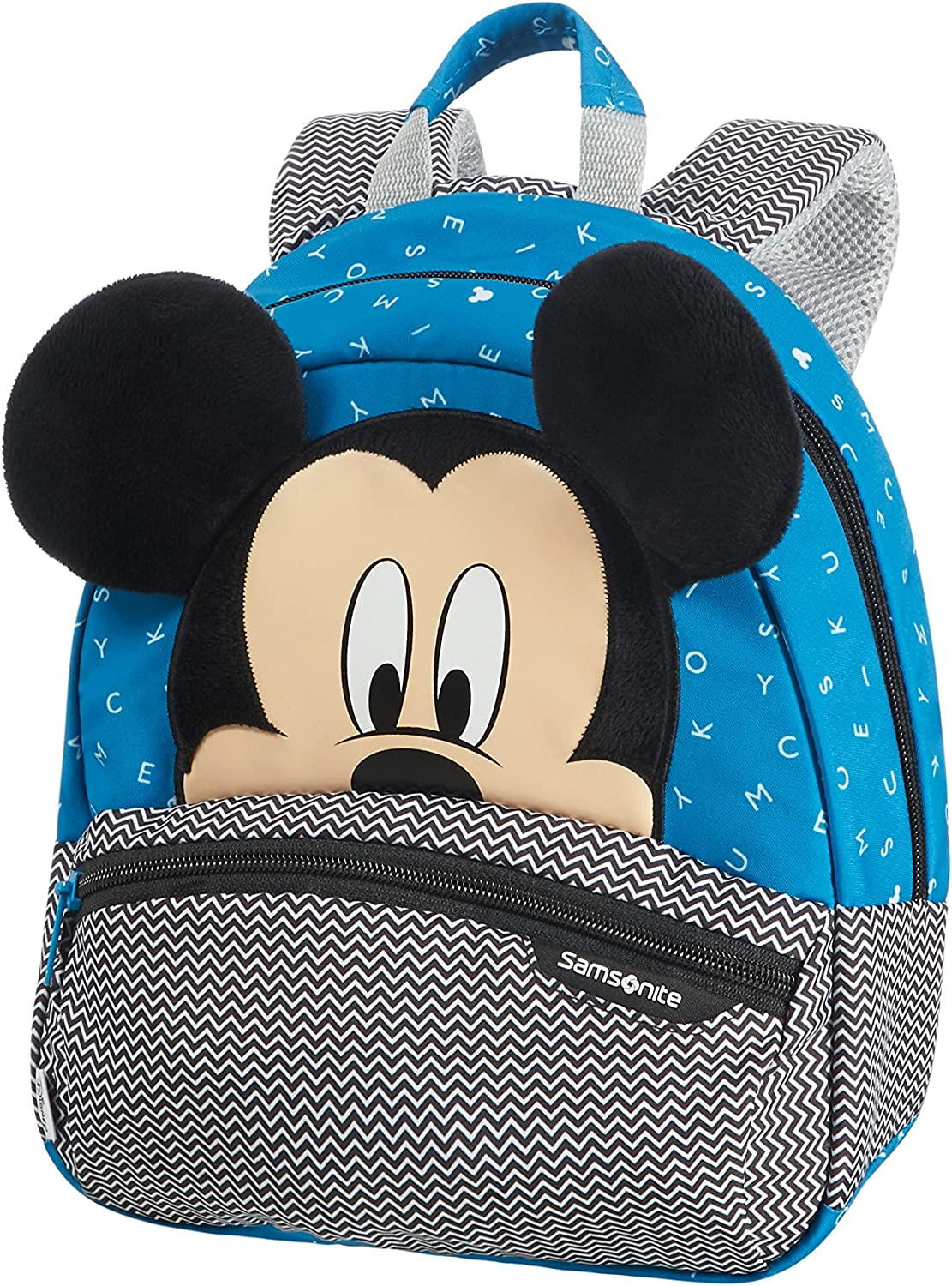 Samsonite Disney Ultimate 2.0 - Mochila Infantil, 7 l, Multicolor (Mickey Letters), S (28.5 x 23.5 x 13.5 cm)
