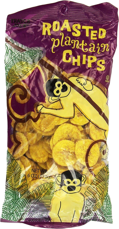Trader Joe's 3 Pack Roasted Plantain Chips
