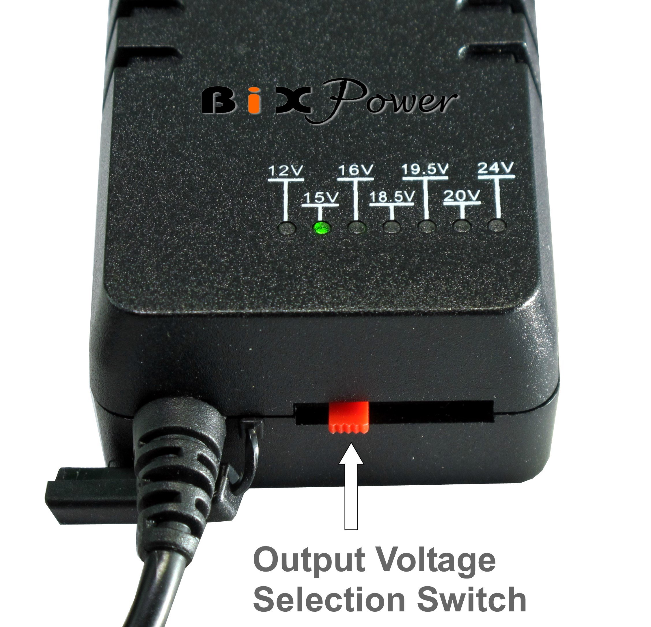 BiXPower MP330DC Battery Pack - Super Capacity 336 Watt-hour Light Weight Battery with Multi Output Voltages (12v/15v/16v/18v/19v/24v) Power Converter Combo Kit by BiXPower (Image #4)