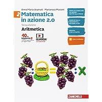 Matematica in azione. Aritmetica-Geometria. Per la Scuola media. Con Contenuto digitale (fornito elettronicamente): 2