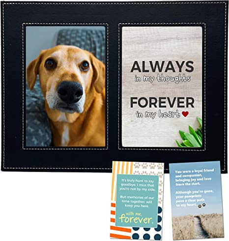 Beloved Pet Loss Memorial Picture Frame Bereavement Gift Loss of Cat Pet Remembrance Photo Frame Loss of Dog Gift for Friend