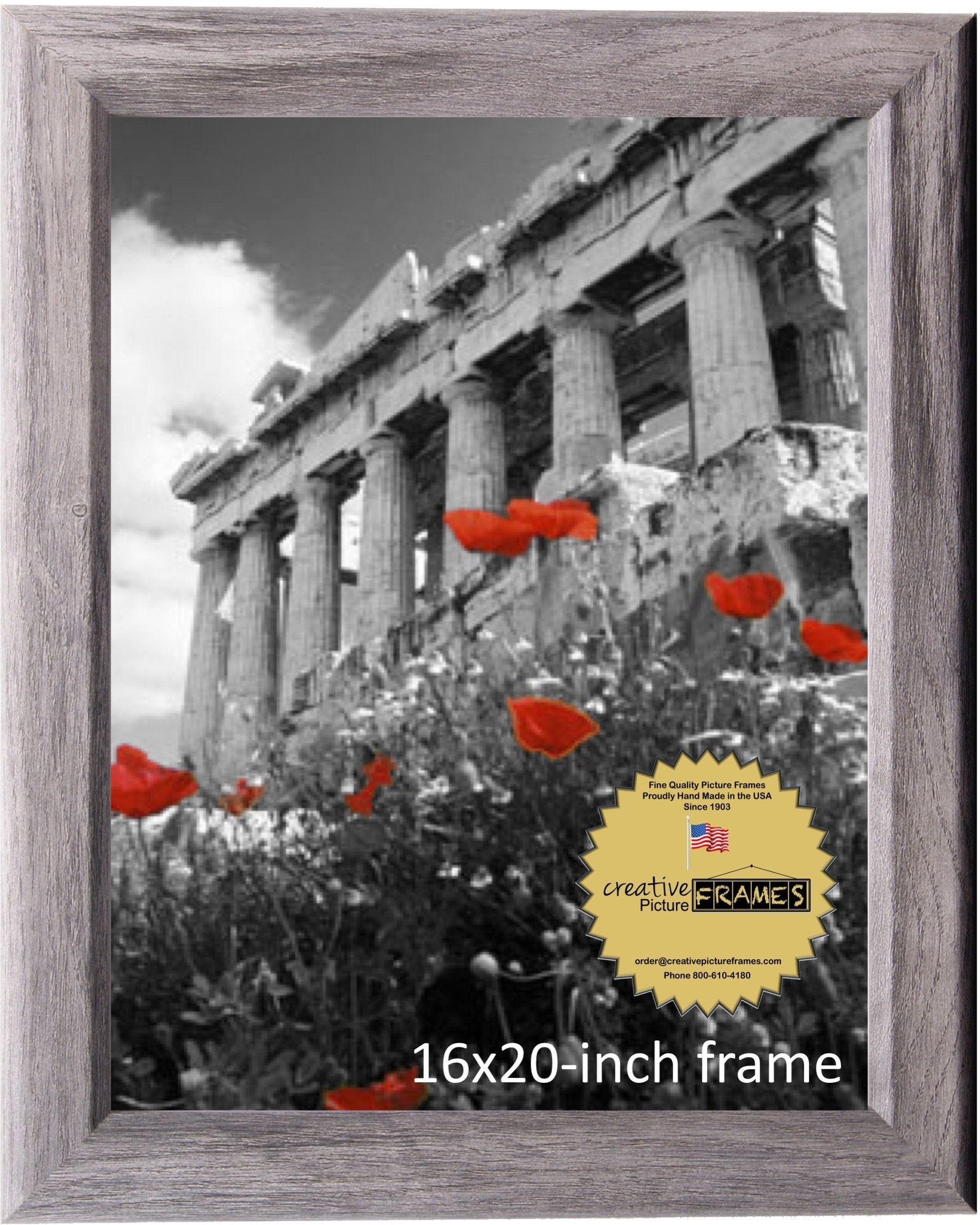CreativePF 16x20-inch Driftwood Finish Picture Frame (1, Driftwood)