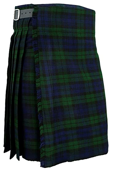 9de2a026795c Mens Kilt Blackwatch Scottish Traditional Highland Tartan Dress   Amazon.co.uk  Clothing