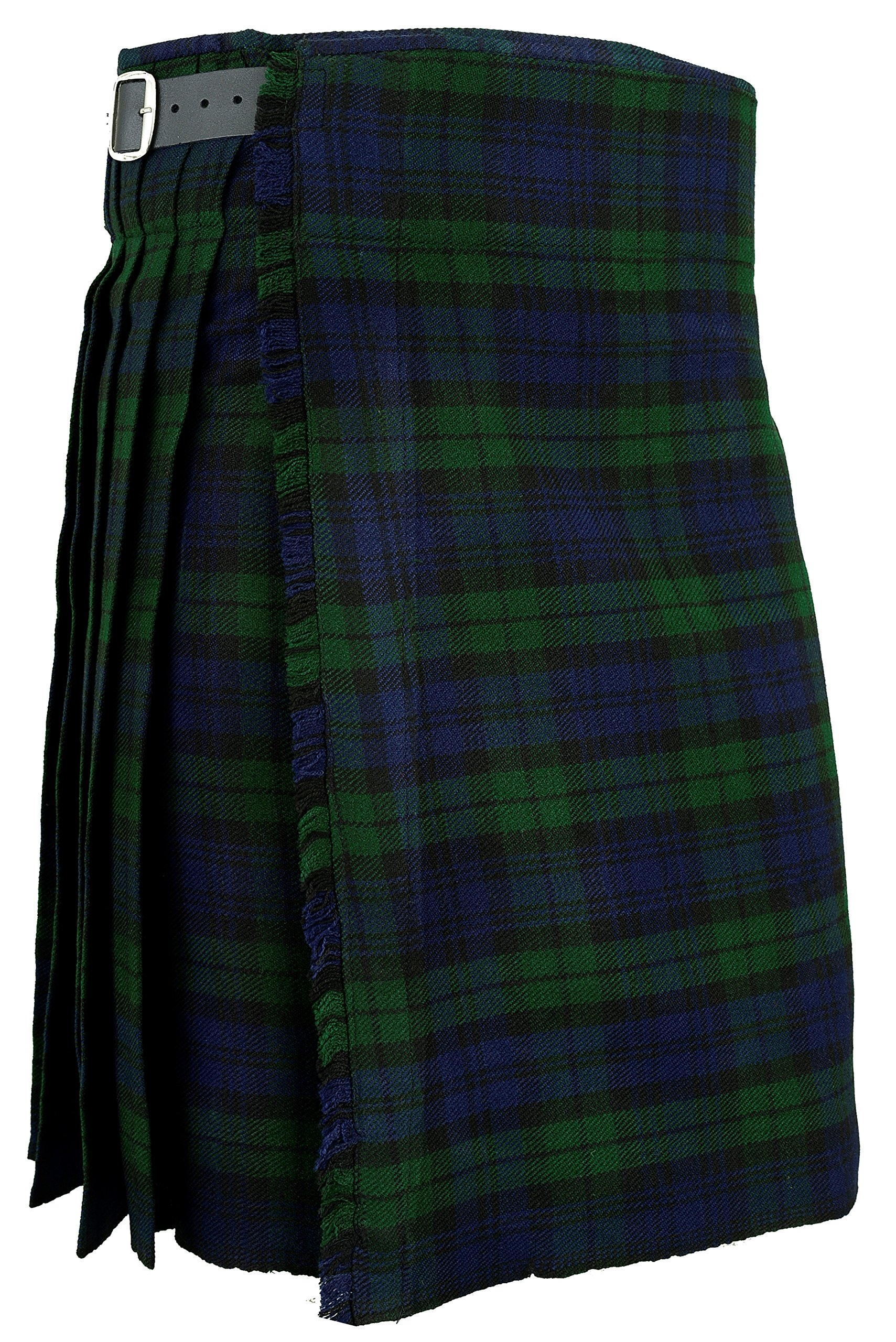 Scottish Traditional Kilt Blackwatch Tartan (W32)