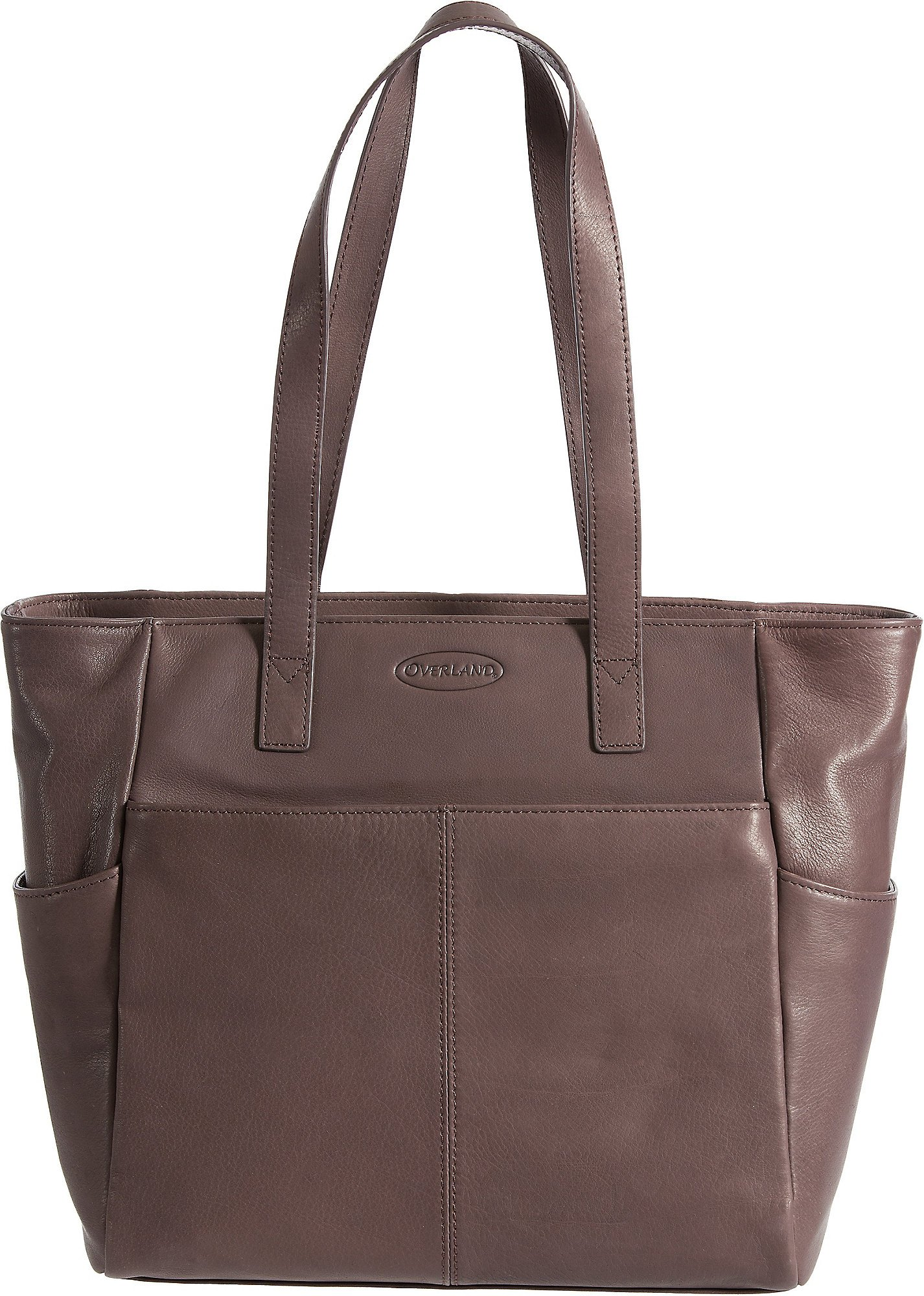 Nashua Leather Tote Bag, BROWN, Size 1 Size
