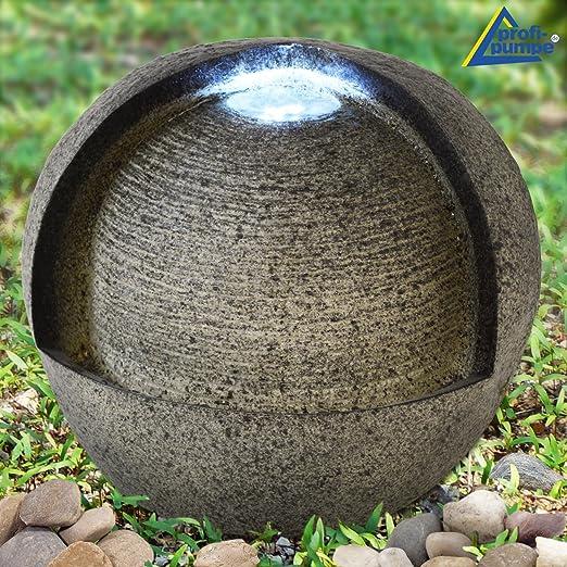 AMUR Fuente Decorativa - Fuente DE Interior y Exterior - Fuente para JARDÍN - Fuente EN Cascada 230/12V -