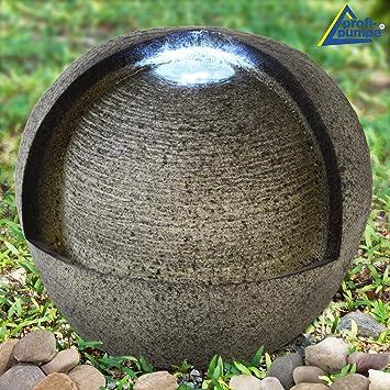 AMUR Fuente Decorativa - Fuente DE Interior y Exterior - Fuente para JARDÍN - Fuente EN Cascada 230/12V - Fuente Ornamental - Fuente de Jardin Fuente DE Vida - Fuente de Agua