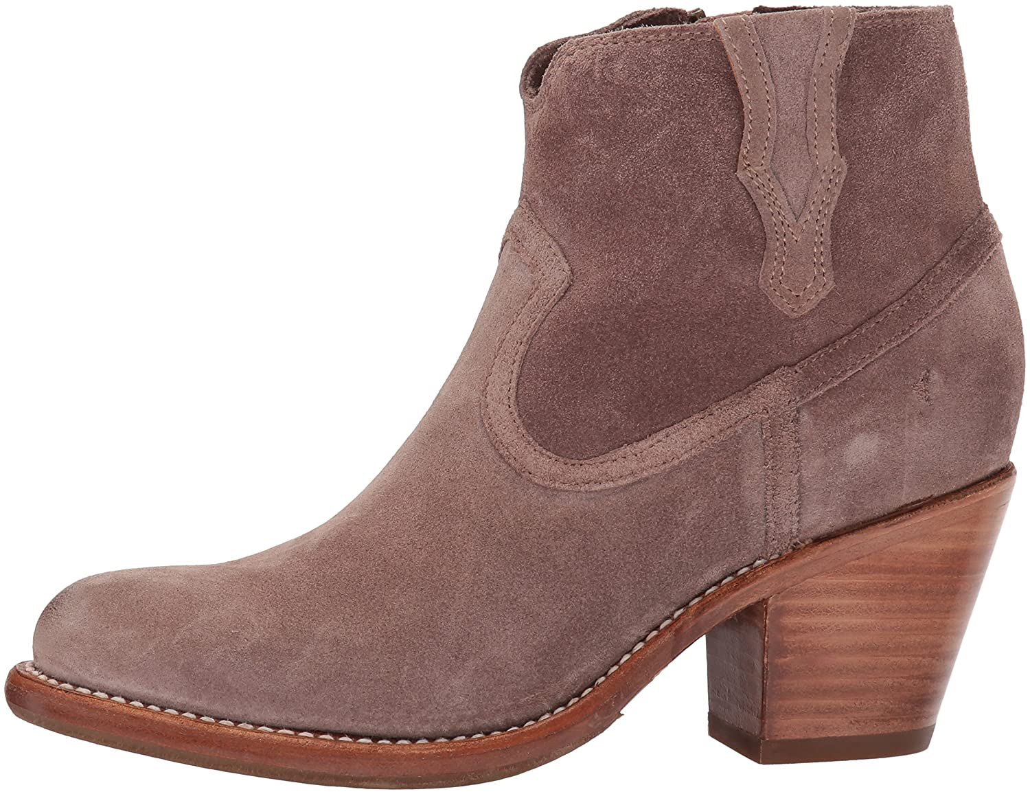 FRYE Women's Lillian Western Bootie Boot B01MU3S0WE Soft 7 B(M) US|Dusty Rose Soft B01MU3S0WE Oiled Suede 731304