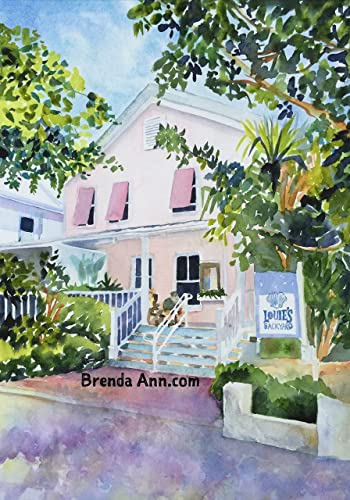 Amazon.com: Louie\'s Backyard Key West - Fine Art Wall Art Artwork ...