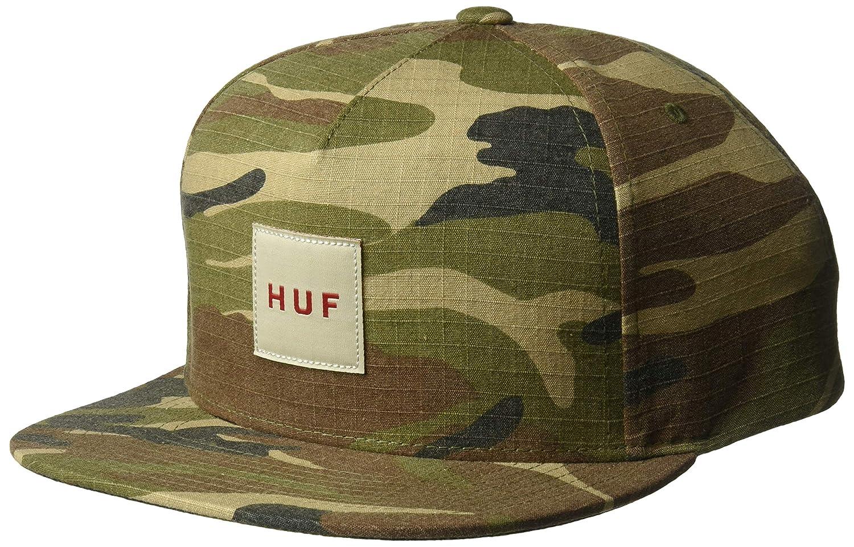 HUF Gorra de Ripstop Box Logo Camuflaje - Ajustable: Amazon.es ...