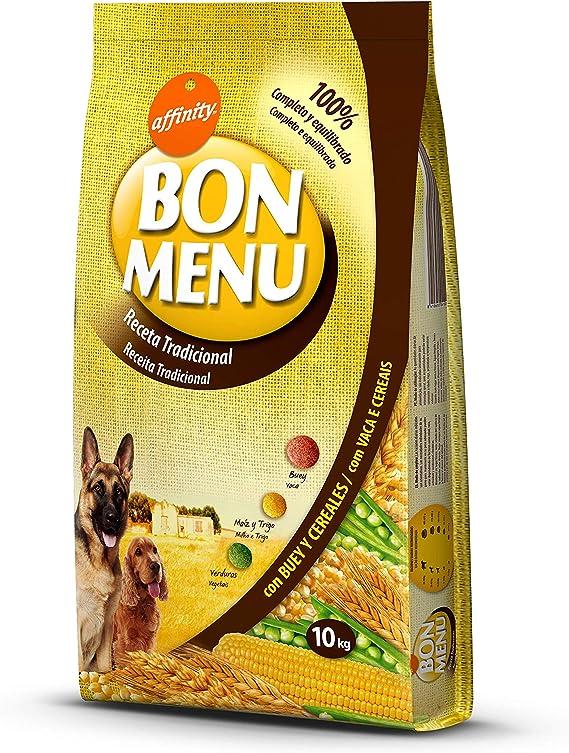 affinity Bon Menu - Receta Tradicional - Comida para Perros - 10 Kg