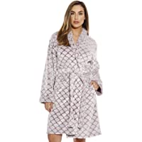 Just Love Kimono Robe Velour Scalloped Texture Bath Robes for Women 9dd34a807