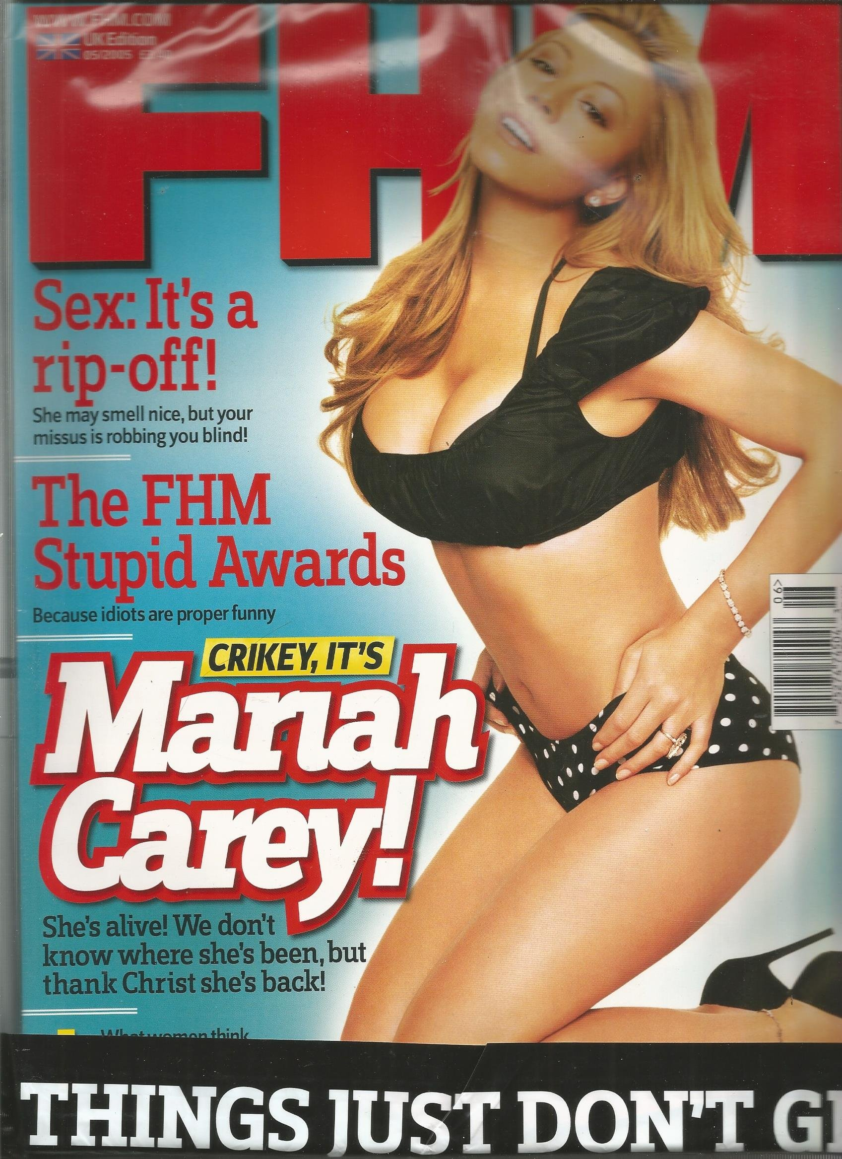 For Him Magazine UK Edition (Mariah Carey Cover, May 2005) PDF