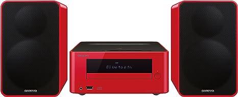 Onkyo CS-265DAB-R - Sistema mini (Bluetooth, NFC, USB frontal ...