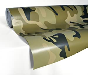 VViViD XPO Desert Camouflage Vinyl Car Boat Vehicle Wrap Vinyl Self Adhesive Stretch Conform Decal DIY (1ft x 5ft)