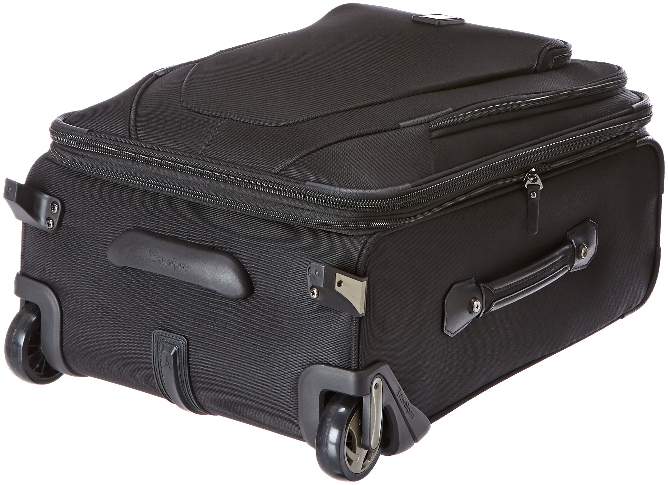 Travelpro Crew 10 20 '' Expandable Business Plus Rollaboard, Balck by Travelpro (Image #4)