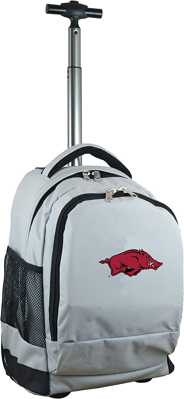 Grey 19-inches NCAA Wheeled Backpack