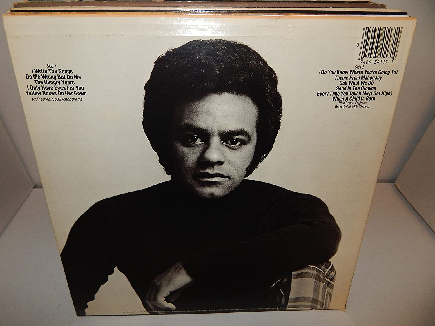 JOHNNY MATHIS - Johnny Mathis: I Only Have Eyes for You - Amazon.com ...