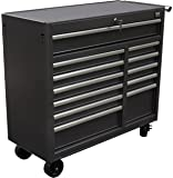 WEN 74412 41-Inch 12 Drawer Rolling Tool Cabinet
