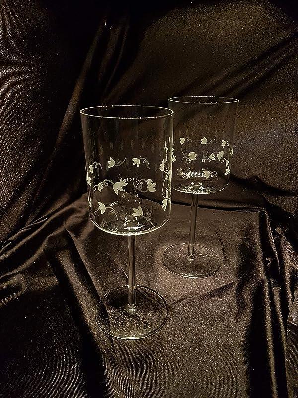 Copas Schott Zwiesel Vino Talladas a Mano con Estuche de lujo.(mod. Modo talla Autumn): Amazon.es: Handmade