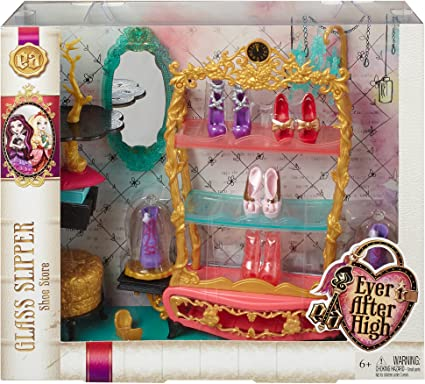EVER AFTER HIGH ASHLYNN ELLA DOLL CASTLE PLAYSET REPLACEMENT FLORAL SHOES ONLY