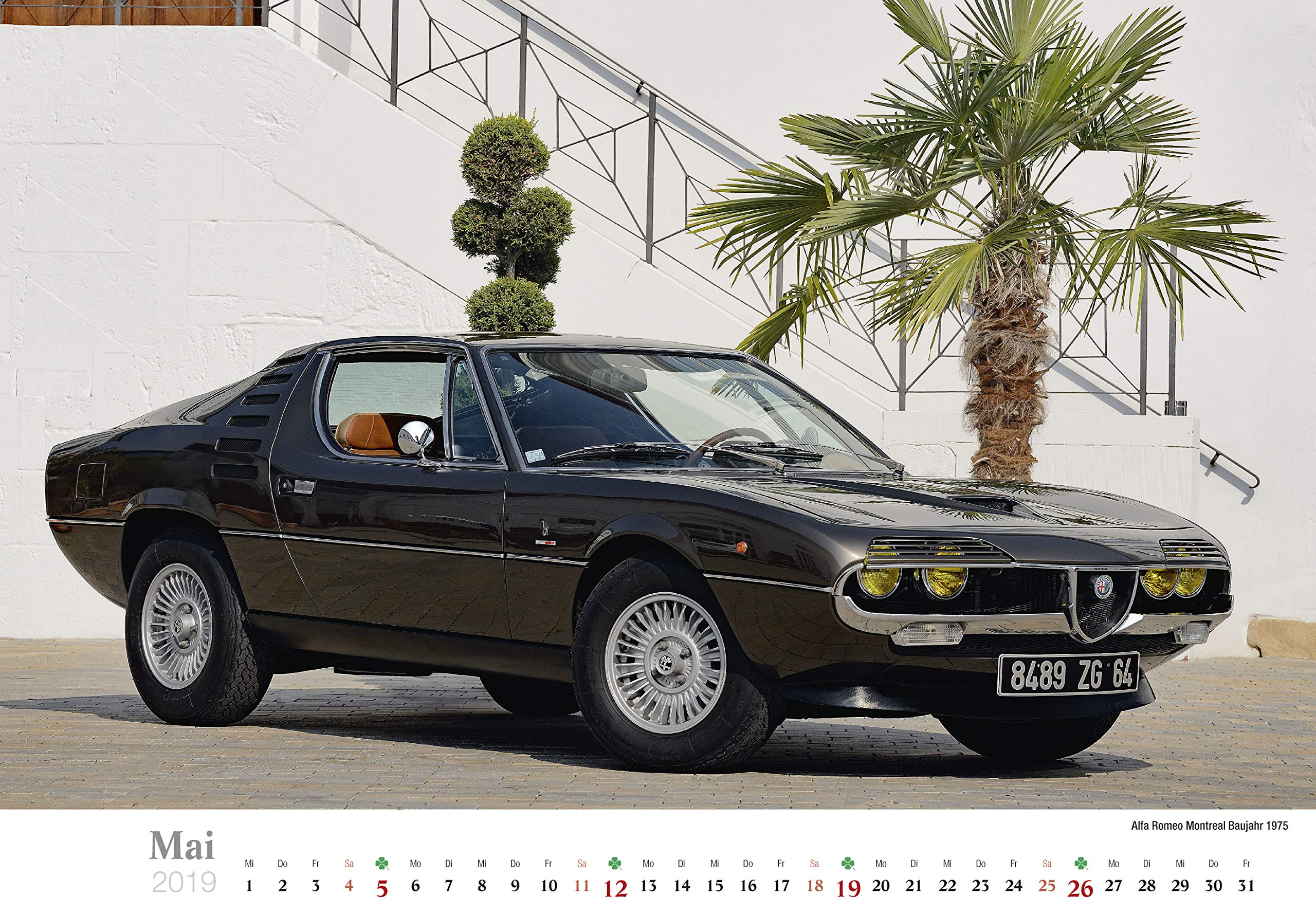 Alfa Romeo 2019 (German) Calendar