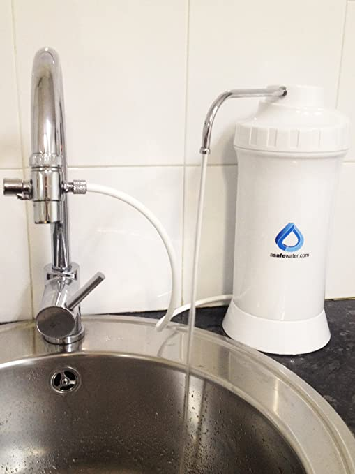 Filtro purificador de agua para grifo Asafewater TASTE: Amazon.es ...