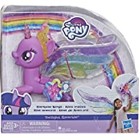 My Little Pony Toy Rainbow Wings Twilight Sparkle -- Purple Pony Figure with Lights and Moving Wings, Kids Ages 3 Years…