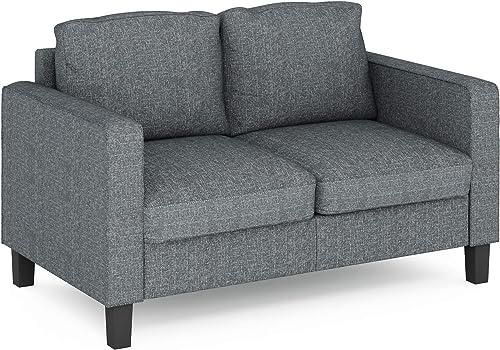 FURINNO Bayonne Modern Upholstered Love Seats
