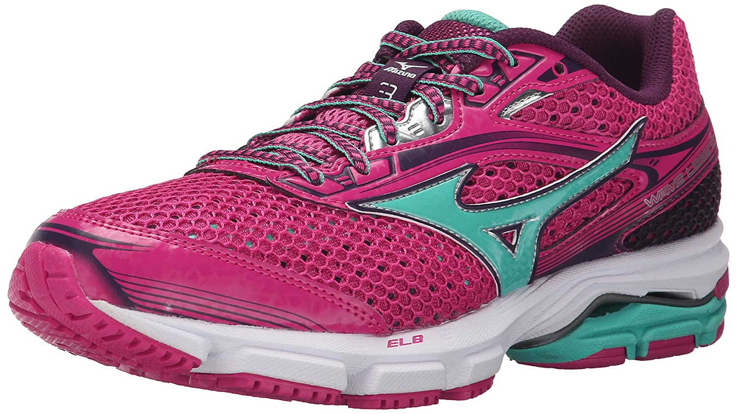 Mizuno Women's Wave Legend 3 Running Shoe B012H5V9TG 6.5 B(M) US|Fuchsia Purple/Waterfall