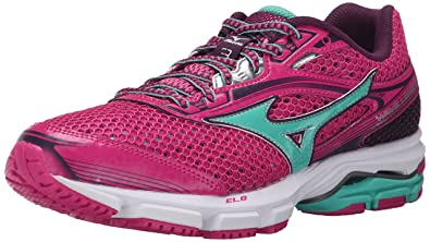 Mizuno Women's Wave Legend 3 Running Shoe, Fuchsia Purple/Waterfall, ...
