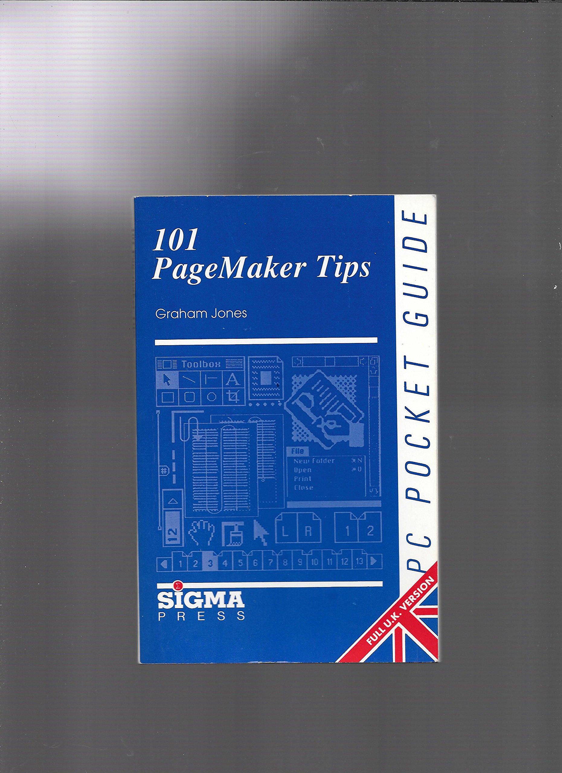 Personal Computer Pocket Guide: 101 Pagemaker Tips (PC pocket guides):  Graham Jones: 9781850582007: Amazon.com: Books