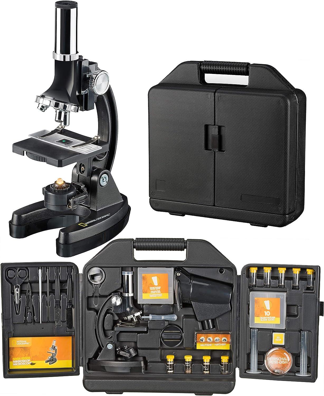 Microscopio 300x-1200x National Geographic con Maleta