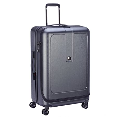 Delsey Paris GRENELLE Suitcase. 76 cm. 114 liters. (Anthracite) Free Shipping Professional lI938WcS