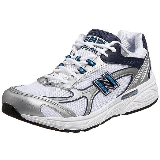 New Balance Men\u0027s MR883 Running Shoe,White/Navy,10 EE