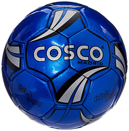 Cosco Madrid Foot Ball, Size 5  Color May Vary