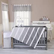 Trend Lab Ombre Gray 3 Piece Crib Bedding Set