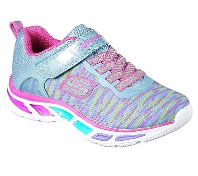 5dd3f0be9f05 Skechers Kids Girls  Litebeams-Colorburst Sneaker