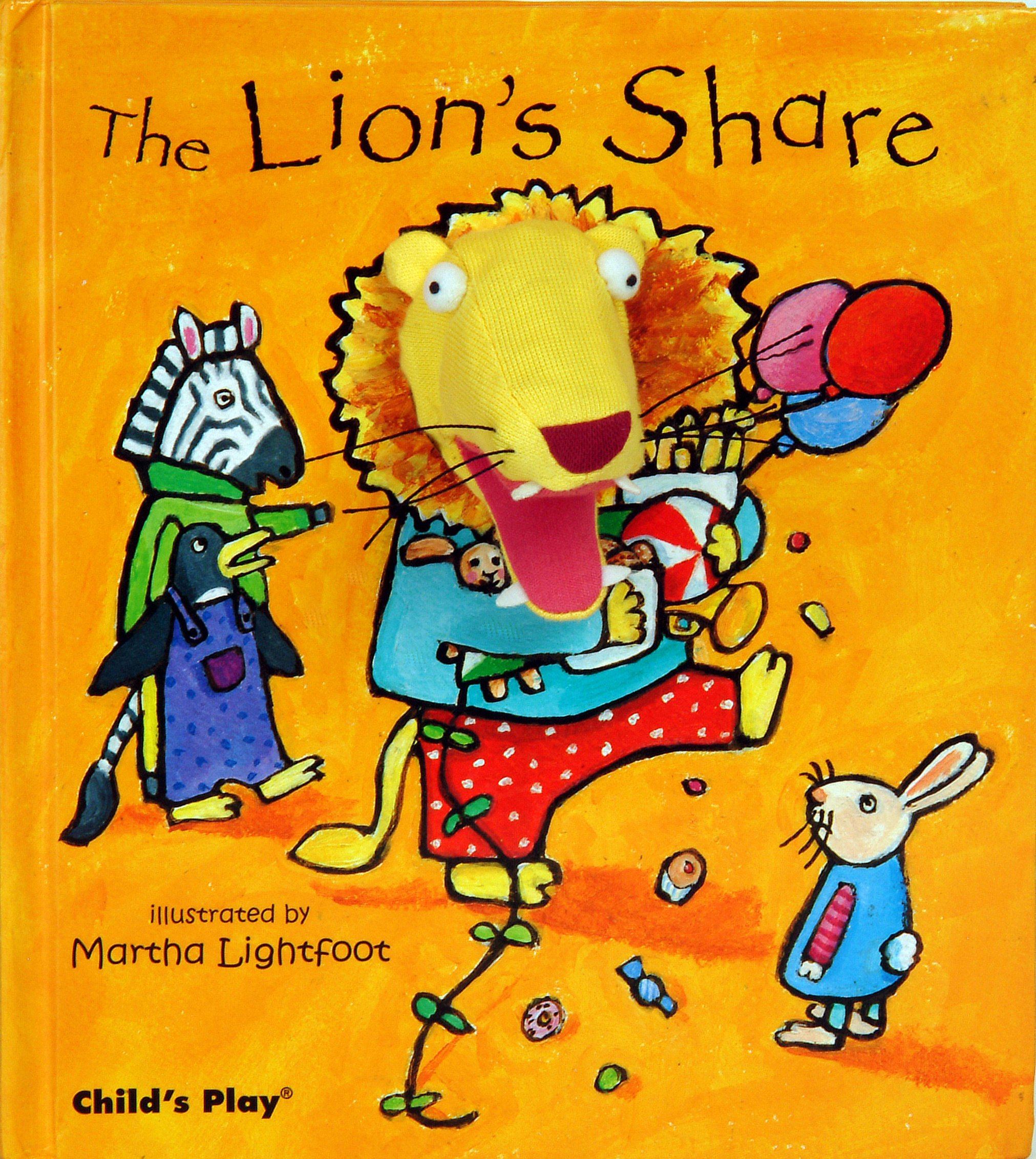 Download The Lion's Share [With Finger Puppet] (Activity Books) (Finger Puppet Books) pdf