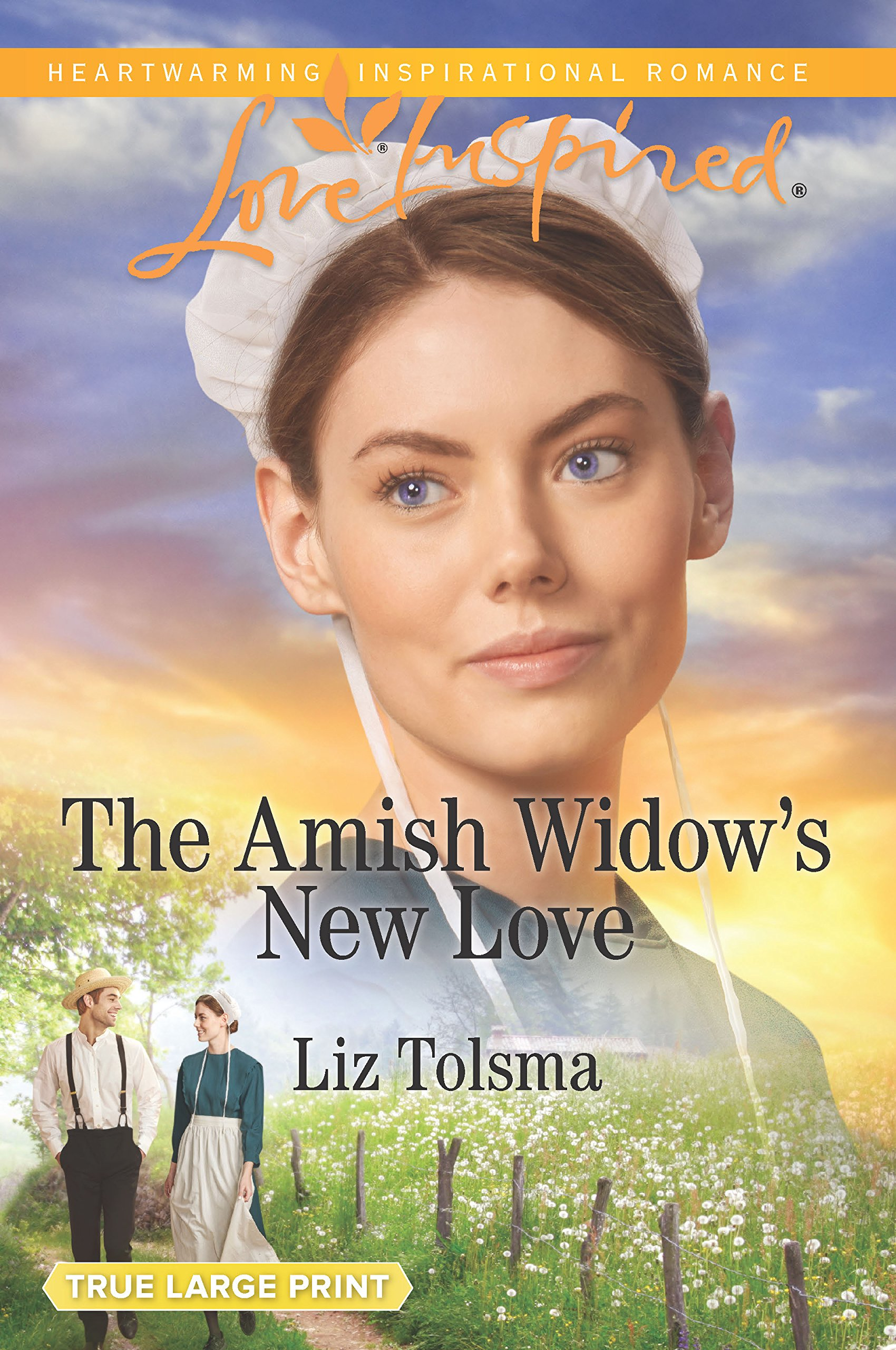 The Amish Widow's New Love by Love Inspired